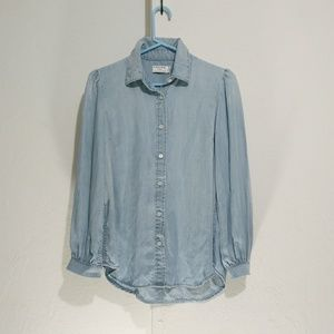 Frame chambray shirt Size S